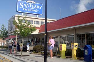 The Sanitary Restaurant Morehead City Nc